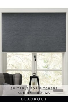 Buy Textured Rib Blackout Roller Blind from the Next UK online shop Blinds For Windows, Curtains With Blinds, Sheer Roller Blinds, Grey Lounge, External Lighting, Beautiful Curtains, Roller Shades, Woodland Nursery Decor, Doors