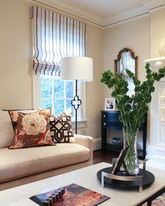 Oxford Road By Erika Ward Interiors Fabric Roman Shades Custom Diy House