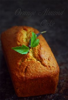 Апельсиново - миндальный кекс