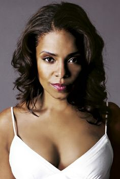 Sanaa Lathan... she's just stunning. Such a celebrity crush on her lol
