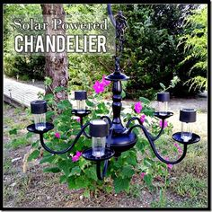 Summer Solar Powered Chandelier