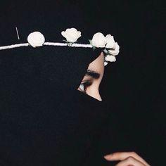 Cute Muslim Couples, Muslim Girls, Muslim Women, Anime Muslim, Muslim Hijab, Hijab Niqab, Mode Hijab, Niqab Fashion, Muslim Fashion