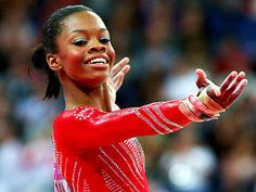 Miss Gabby Douglas...the cutest tough gal out there!!