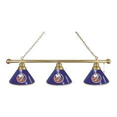 New York Islanders Billiard Light - Brass - $249.99
