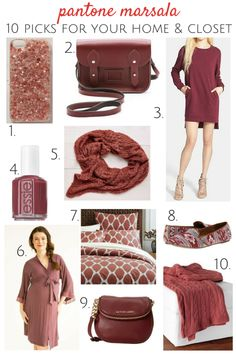 Gotta say I'm not loving it… Pantone Marsala was announced yesterday as the 2015 Color of the Year and we're feeling torn. Do you love it? Hate it? On the fence, like us?