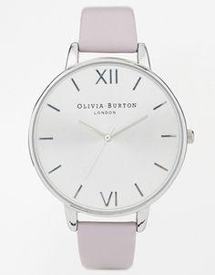 Enlarge Olivia Burton Big Dial Grey Lilac Watch ($161.39)
