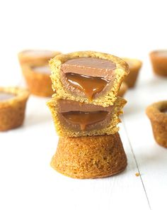 ... twix cookie cups ...