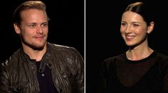 Sam Heughan and Caitriona Balfe discuss with Access Hollywood 'The Devil's Mark' episode of 'Outlander.'
