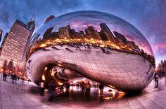 15 Chicago Landmarks That Light Up The Night | http://bzfd.it/1gxSvvx