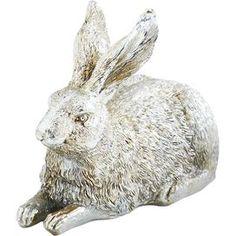 Laying Rabbit Statuette