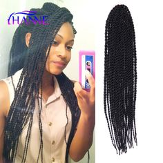 Braids Senegalese 18inch Twist Hair Extesnion Crochet Hair Extensions ...