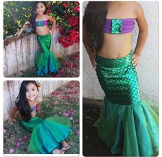 Mermaid tail only for toddlers and girls by MTBGBOUTIQUE on Etsy