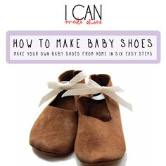 Seriously Simple Baby Shoes