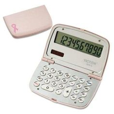 Victor – 2 Pack – 909-9 Limited Edition Pink Compact Calculator 10-Digit Lcd Product Category: Office Machines/Calculators & Counters by Original Equipment Manufacture