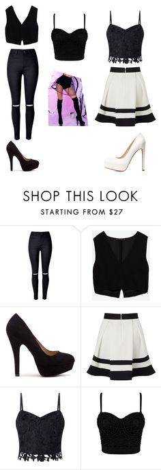"""""""Unbenannt #67"""" by ahfac on Polyvore featuring Mode, WithChic, Zara, Lipsy und Charlotte Russe"""