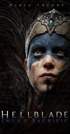 Original Game Soundtrack (OST) from the action-adventure indie video game Hellblade: Senua's Sacrifice The music composed by David Garcia. Hellblade: Senua's Sacrifice Soundtrack by David Garcia Original Wallpaper, Hd Wallpaper, Heavenly Sword, Warrior Names, Celtic Warriors, Post Apocalyptic Fashion, Vision Quest, Face Illustration, Game Change