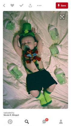 St Patrick's day shoot fo - Baby Hair Baby Boy Pictures, Newborn Pictures, St Patrick's Day Photos, Holiday Photos, Kid Photos, Baby Calendar, Calendar Ideas, Milestone Pictures, Monthly Pictures
