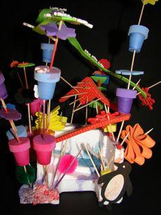 Casa Maria's - Styrofoam and toothpick sculptures  ≈≈