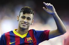 Neymar - Neymar Unveiled as New FC Barcelona Player