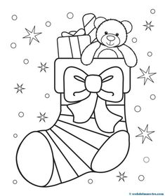 Christmas Stocking Coloring Page - Free Christmas Recipes, Coloring Pages for Ki. Christmas Stocking Coloring Page - Free Christmas Recipes, Coloring Pages for Kids Coloring For Kids, Coloring Pages For Kids, Coloring Books, Santa Coloring Pages, Coloring Pages Winter, Printable Christmas Coloring Pages, Free Christmas Printables, Free Printables, Christmas Colors