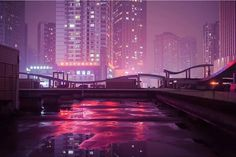 Marilyn Mugot's excellent night photography series 'Night Project' included eerie photos of the back alleys of Hong Kong and China. Night Aesthetic, Neon Aesthetic, Cyberpunk Aesthetic, Cyberpunk City, Cyberpunk 2077, Vaporwave, San Junipero, Neon Licht, Neon Noir