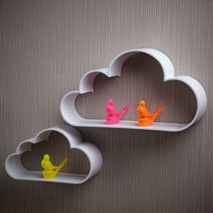 Cloud Wall Shelves