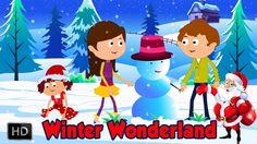 Winter Wonderland - Sleigh Bells Are You Listening - Christmas Carol Wit...