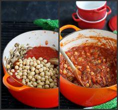 Spiced Mushroom, Chickpea & Tomato Stew Recipe