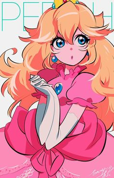 Princess Peach by @smymji6