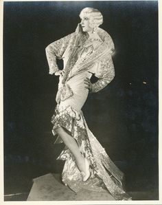 """Julia Faye  Faye in costume for her part in MGM's """"Dynamite"""" (1929)."""