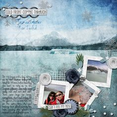 The Digichick :: Digital Kits :: These Crazy Winters - Fusion Kit