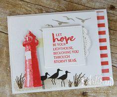 2017  Be the Light of Hope- High Tide Stamp Set   High Tide Photopolymer Stamp Set – 143006 Price: $26.00