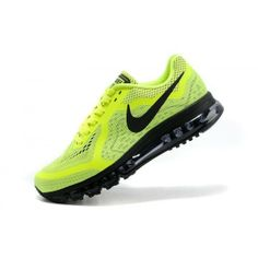 new concept 8cadc 12d38 Demping Hardloopschoenen Nike Air Max 2014 Heren Neon Geel Zwart,Various  trainers in stock with best quality as you see.
