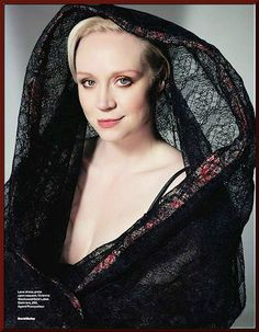 "Gwendoline Christie (""Brienne"") ~ Elle UK shoot, March 2014"