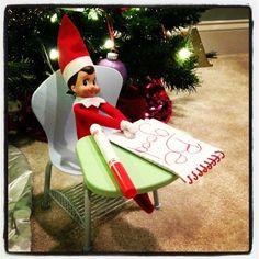 Elf on the Shelf: Friendly reminder.