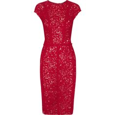 Nina Ricci Ruched lace dress
