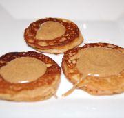 Apple Pie Pancakes with almond butter - Paleo - FastPaleo--GOOD! My kiddos loved them!