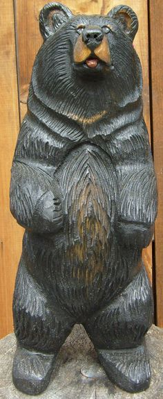 2 ft. free standing black or brown bear- $285.00 free shipping