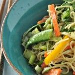 Asian Noodle & Greens Salad