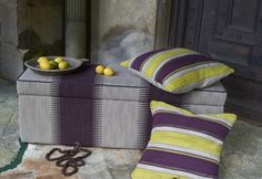 The Scallop Blanket Box from sofa.com in Mohawk fabric - $720