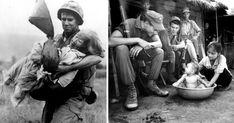 Chiến tranh Việt Nam, những hình ảnh ghi lại một thời bom đạn đã lấy đi xương máu của biết bao người con đất Việt.Những bức hình được chia sẻ trên mạng xã hội sau đây có thể cho bạn một cái nhìn ở góc độ khác về lịch sử....