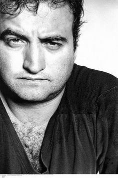"""John Belushi- comedian and actor who was an original cast member of Saturday Night Live. Best known for his role in the film """"Animal House"""" and """"The Blues Brothers"""". He died on March 1982 of a massive drug overdose at the age of 33 Celebrity Portraits, Celebrity Photos, Celebrity Deaths, The Blues Brothers, Photo Vintage, Looks Black, Saturday Night Live, Famous Faces, American Actors"""