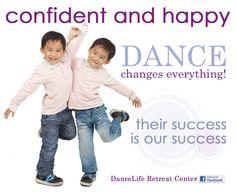 Confident and happy!