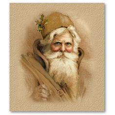 pictures of an old world santa | ... in Santa Claus! That's right, you heard me, I believe in Santa