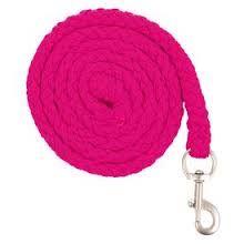 halstertouw dit touw moet dus aan het halster niet aan het hoofdstel