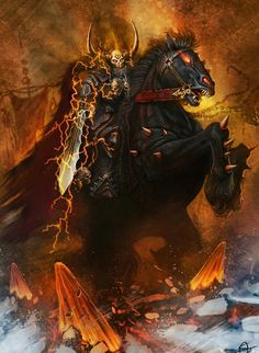 Archaon the bringer of the end of times