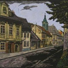 Bratislava, Mansions, House Styles, Painting, Fresh, Home Decor, Art, Art Background, Decoration Home