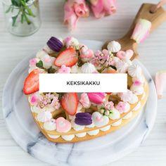 Keksikakku Biscuit Cake, Oreo, Biscuits, Birthday Cake, Desserts, Food, Crack Crackers, Tailgate Desserts, Cookies