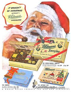 It wouldn't be Christmas without Whitman's Chocolates