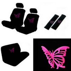 Cars girly 2019 New Cars girly 2019 New Cars girly Set Butterfly Pink Girly Car Seat Cover Steering Wheel. Check more at Girly Car Seat Covers, Future Car, Car Accessories, Cool Cars, Winnie The Pooh, Car Seats, Pink, Butterfly